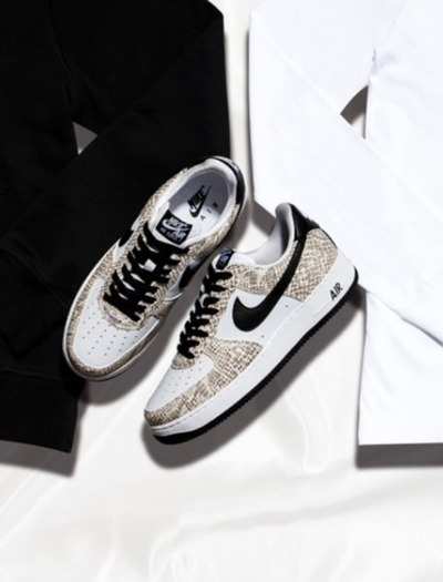 nike air force1 cocoa snake